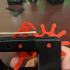 Rubber band Gun print image