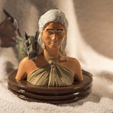 Picture of print of Daenerys Targaryen - Game of Thrones
