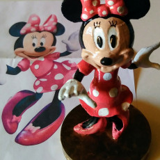 Picture of print of Minnie Mouse
