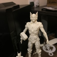 Picture of print of Thor-Marvel Superhero This print has been uploaded by 3D Custom Print