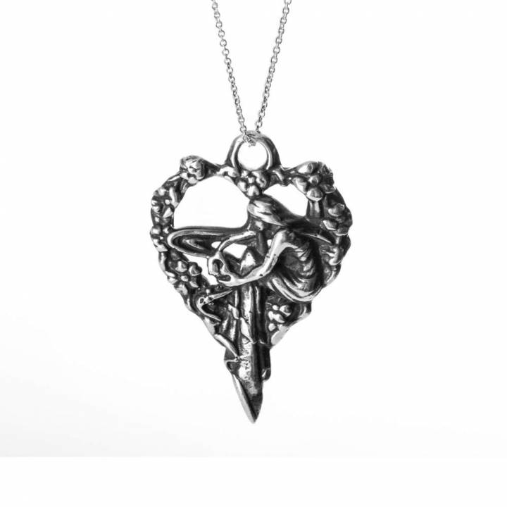 Maiden Of the Heart - Pendant - Valentines comp entry
