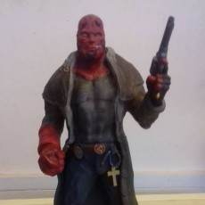 Picture of print of Hellboy
