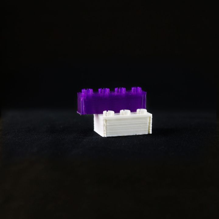 4x1 Brick- Printable Lego Brick