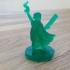 Wayfarer Miniatures: Elf Street Mage print image