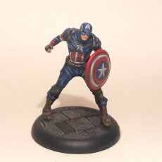 Picture of print of Captain America - Age Of Ultron