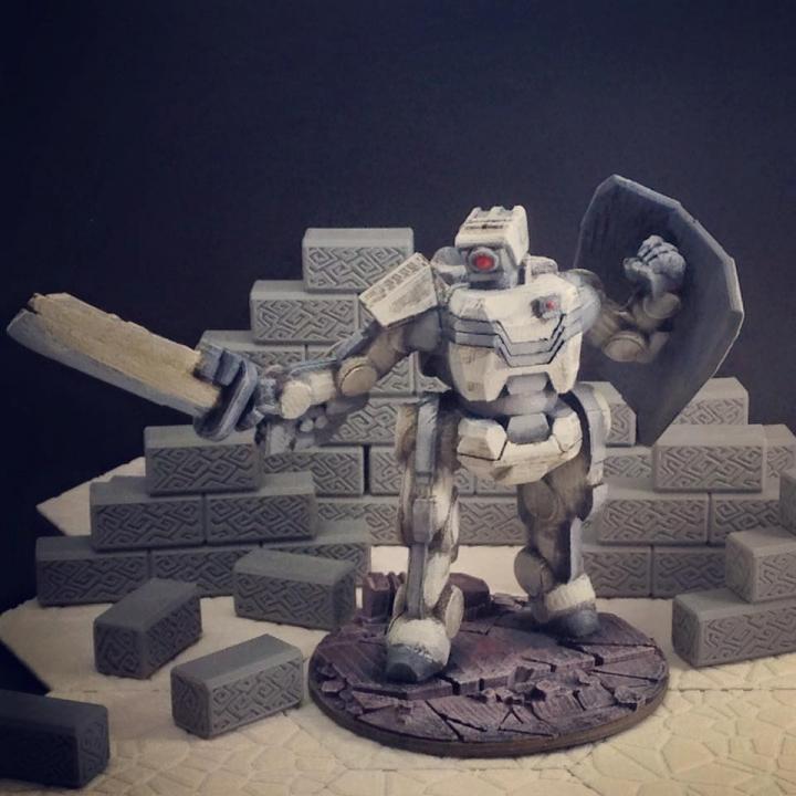 Brontes Heavy Assault Robot (28mm scale)