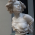 Bust of a Female Slave at The Ny Carlsberg Glyptotek, Copenhagen image