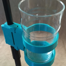 Snaplock Pint Holder for Microphone Stand