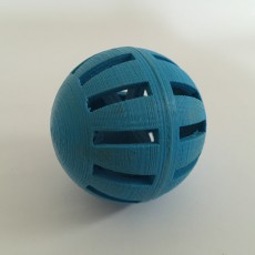 Picture of print of Erratic Cat Ball