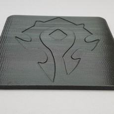 World of Warcraft Horde Coaster