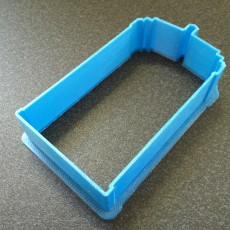 Picture of print of TARDIS Cookie Cutter