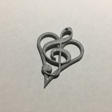 'Music From the Heart' Pendant