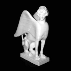Sphinx Seated at The Royal Cast Collection, Copenhagen
