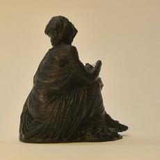 Picture of print of Drunken old woman clutching a lagynos at The Glyptotek Museum, Copenhagen