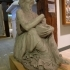 Drunken old woman clutching a lagynos at The Glyptotek Museum, Copenhagen image