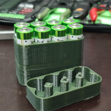 Picture of print of Customizable Battery Case (magnetic)