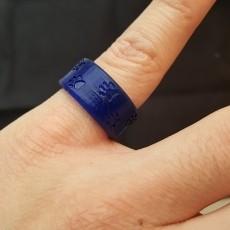 Cat Pawprints Ring