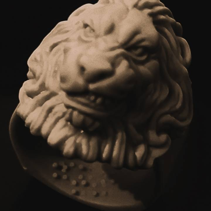 Lion Ring for comp
