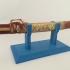 Japanese Katana Sword Display Stand print image
