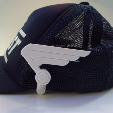 Picture of print of Captain America Wings for Baseball Cap