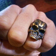 Picture of print of Skull Ring This print has been uploaded by Alexandr Omelchenko