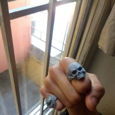 Picture of print of Skull Ring This print has been uploaded by Omar Genaro