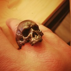 Picture of print of Skull Ring This print has been uploaded by Steeve Pires Madeira