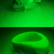 Picture of print of Skull Ring This print has been uploaded by batununbiri
