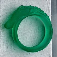 Picture of print of Crocodile Ring
