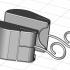 Mouse SD Card Holder Earrings image