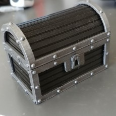 Picture of print of Treasure Chest Ring Box