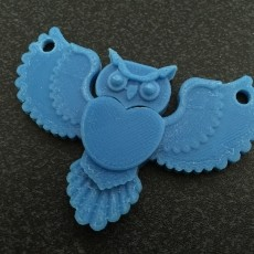 Barney, the Data Owl Pendant