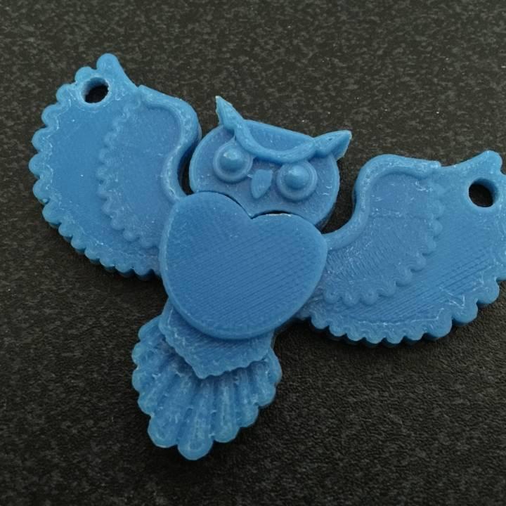 Barney, the Data Owl Pendant