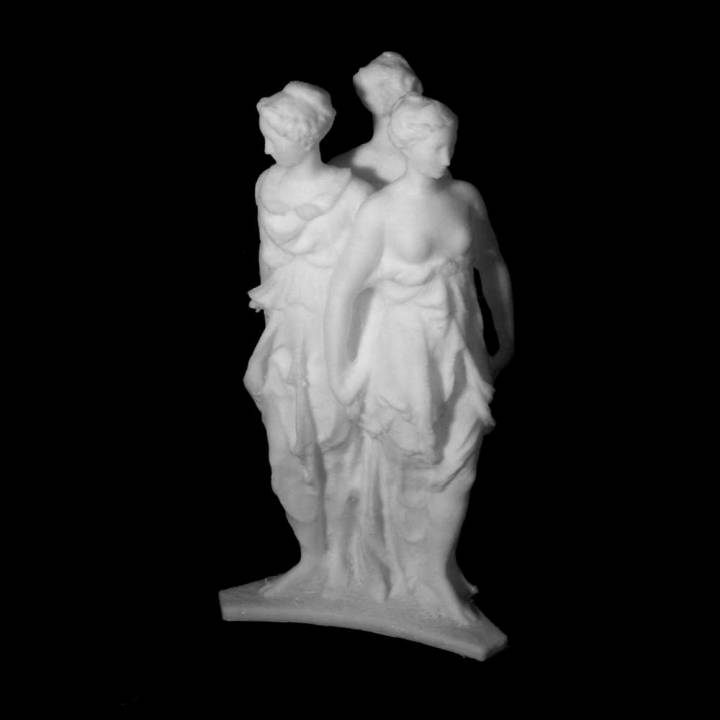 The Three Graces at The Royal Cast Collection, Copenhagen