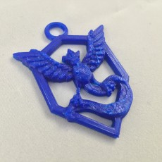 Picture of print of Pokemon Go : Team Mystic Pendant
