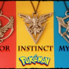 Picture of print of Pokemon Go : Team Instinct Pendant