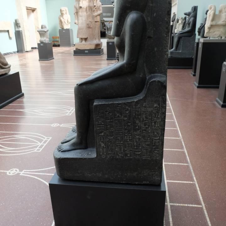 The Priest Ahmose and his Mother Baket-re at The Nye Carlsberg Glyptotek, Copenhagen