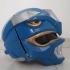 Blue Power Ranger Helmet print image