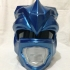 Blue Power Ranger Helmet print image