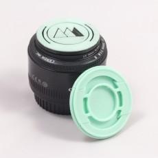 Print-in-Place DSLR Lens Cap (43->95mm)