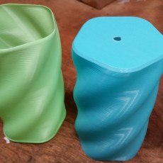 Picture of print of 5-Sided Twist Container This print has been uploaded by Eric Gigante