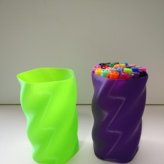 Picture of print of 5-Sided Twist Container