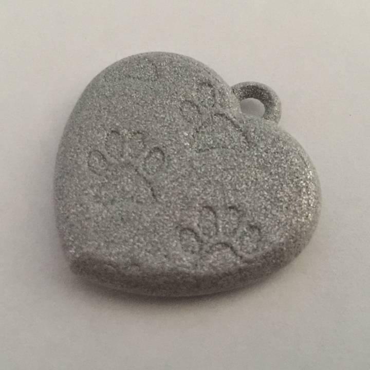 Pawprints On My Heart Pendant