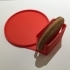 Anti Spill Coaster with Biscuit Holder image