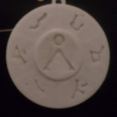 Picture of print of The Way Home Pendant