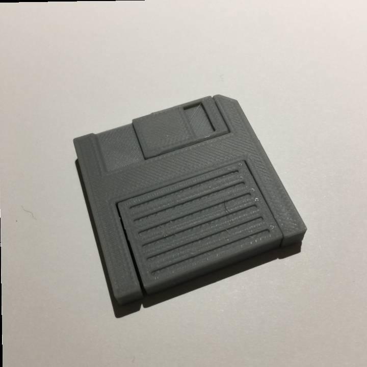 Floppy Disk SD Card Reader Pendant