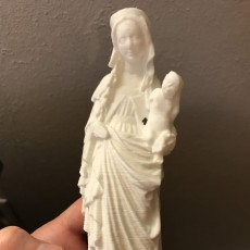 Picture of print of Figure of Virgin Mary