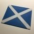 Scotland Flag Coaster / Plaque image