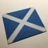 Scotland Flag Coaster / Plaque primary image
