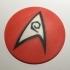 Star Trek TOS USS Enterprise Engineering / Security Department Coaster / Plaque primary image